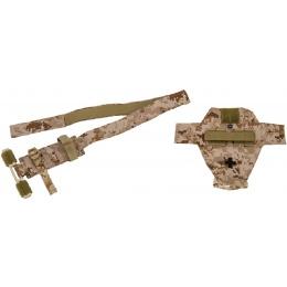 Lancer Tactical Airsoft QH Application Tourniquet Prop - DESERT DIGITAL