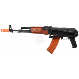 JG Full Metal AK74U EBB Airsoft AEG Rifle w/ Side Folding Stock