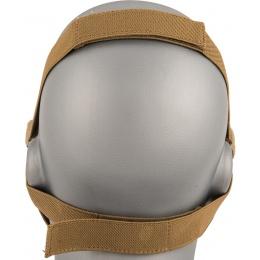 AMA Tactical Skull Lower Face Mask w/ Foam Padding - FOLIAGE GREEN