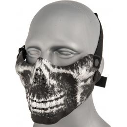 AMA Tactical Skull Lower Face Mask w/ Foam Padding - YH