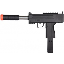 Airsoft Spring Powered M10 Pistol - BLACK