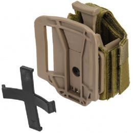 Lancer Tactical Universal Pistol Holster - DARK EARTH