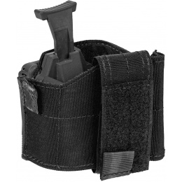 Lancer Tactical Universal Pistol Holster w/ Belt Clip - BLACK