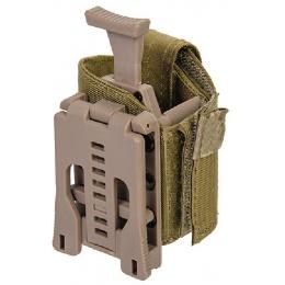 Lancer Tactical Universal Pistol Holster w/ Belt Clip - DARK EARTH