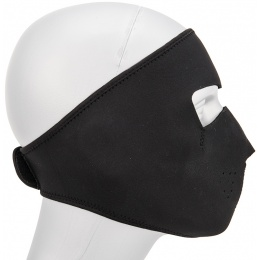 AMA Tactical Airsoft Neoprene Full Face Mask - BLACK