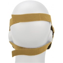 AMA Tactical Airsoft Half Face Skull Mask - NOM