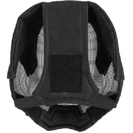 AMA Airsoft Tactical V6 Strike Mesh Full-Face Mask - BLACK