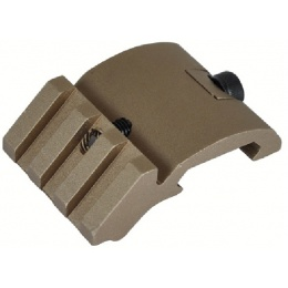 Lancer Tactical 45 Degree Full Metal Light Mount - TAN