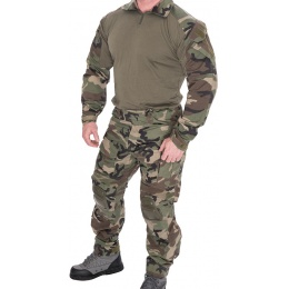 Lancer Tactical Gen 3 Combat Shirt / Pants BDU - WOODLAND CAMO