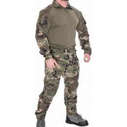 Lancer Tactical Gen 3 Combat Shirt / Pants BDU - WOODLAND CAMO