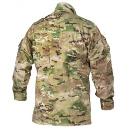 Lancer Tactical R6 Style BDU Shirt w/ Mandarin Collar - MODERN CAMO