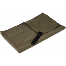 Lancer Tactical Microfiber Recreational Camping Towel - OD GREEN