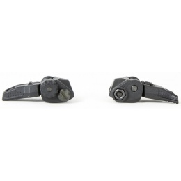 PTS Enhanced Polymer Back-Up Airsoft Iron Sights (EPBUIS) - BLACK