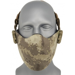 AMA Airsoft Neoprene Foam Face Mask - AT-AU