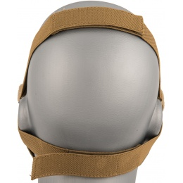 AMA Tactical Skull Lower Face Mask w/ Foam Padding - TAN