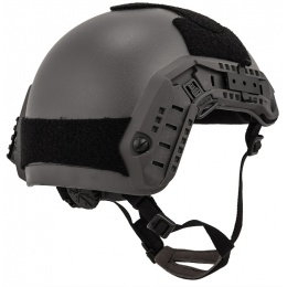 Lancer Tactical Adjustable Maritime Polymer Airsoft Helmet - GRAY (M/L)