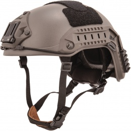 Lancer Tactical Maritime Airsoft ABS Polymer Helmet - GRAY (L/XL)