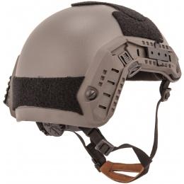 Lancer Tactical Maritime Airsoft ABS Polymer Helmet - GRAY (L/XL)