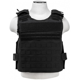 NcStar Tactical Airsoft MOLLE Tactical Vest - BLACK