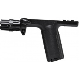 NcStar M4/M16 KeyMod Vertical Grip w/ Light - BLACK