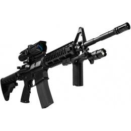 NcStar M4/M16 Picatinny Vertical Grip w/ Light - BLACK