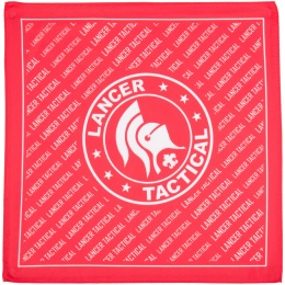 Lancer Tactical Official Airsoft 80D Dead Rag - RED/WHITE