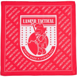 Lancer Tactical Airsoft 80D Lady Knight Dead Rag - RED/WHITE