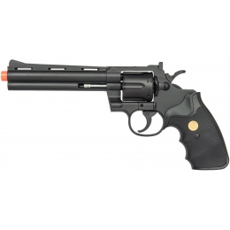 UK Arms G36B Spring Powered Airsoft Revolver - BLACK