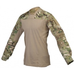 Lancer Tactical TLS HalfShell Combat Long Sleeve Shirt - CAMO