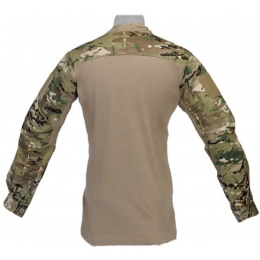 Lancer Tactical TLS HalfShell Combat Long Sleeve Shirt - CAMO
