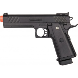 Galaxy 1911 Airsoft Spring Powered Handgun - BLACK