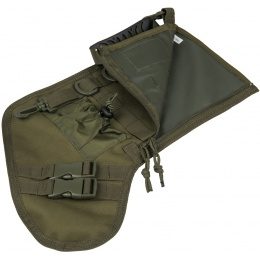 Lancer Tactical 600D Polyester Utility MOLLE Stocking - OLIVE DRAB