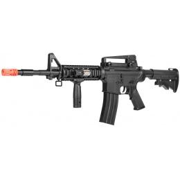 UK Arms P8909 Spring Rifle w/ Handgrip, Laser, and Flashlight - BLACK