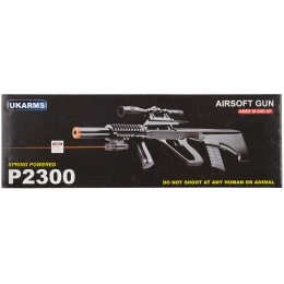 UK Arms P2300 STG 77 Spring Rifle w/ Laser