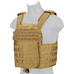 Lancer Tactical QR Tactical Airsoft Tactical Vest (Tan)