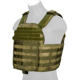 Lancer Tactical QR Tactical Airsoft Plate Carrier Vest - AT-FG