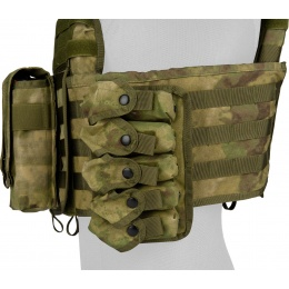 Lancer Tactical QR Tactical Airsoft Tactical Vest (AT-FG)