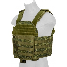 Lancer Tactical QR Tactical Airsoft Plate Carrier Vest - TETRIS LETO