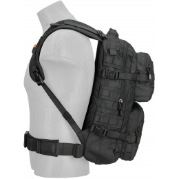 Lancer Tactical Multi-Purpose Operator Patrol Backpack - BLACK