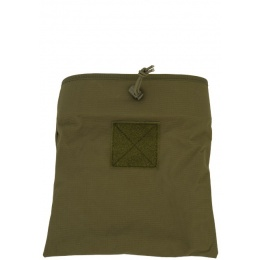 Lancer Tactical Nylon Large Foldable Dump Pouch - OD GREEN