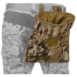 Lancer Tactical Nylon Large Foldable Dump Pouch - CAMO