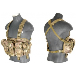 Lancer Tactical Airsoft Nylon AK Chest Rig - CAMO