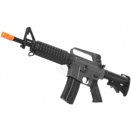 JG Airsoft M4 Commando Metal Gearbox AEG Rifle w/ Tightbore Barrel