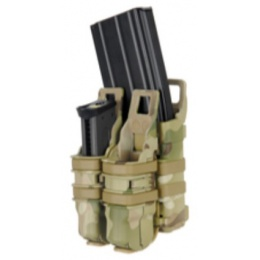 AMA Tactical 1X Rifle/2X Pistol Mag Pouch - MODERN CAMO