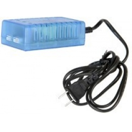 AMA AC Input 2X/3S LIPO 7.4V-11.1V Balance Charger - LIGHT BLUE