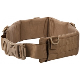 UK Arms Rugged MOLLE LRG Heavy Duty Battle Belt - COYOTE BROWN