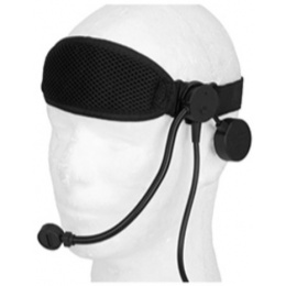 Z-Tactical Cobra Boom Arm Tactical Headset w/ Headband - BLACK