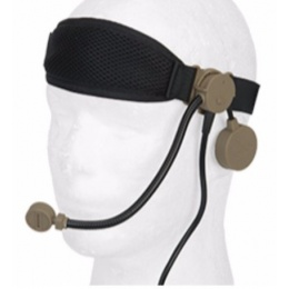 Z-Tactical Cobra Boom Arm Tactical Headset w/ Headband - TAN