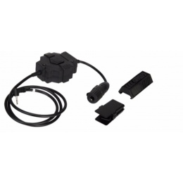 Z-Tactical Airsoft Wireless PTT Radio/Headset Adapter - Motorola 1-Pin Version