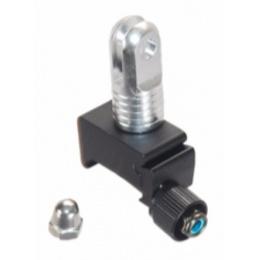 GoPro Compact Aluminum Action Camera Rail Mount - BLACK